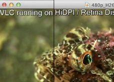 إصدار بدقة عالية لبرنامج تشغيل الفيديو على شاشة ماك بوك