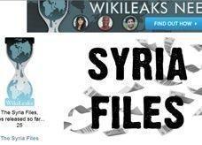 ويكيليكس تنشر ملفات خاصة بسوريا