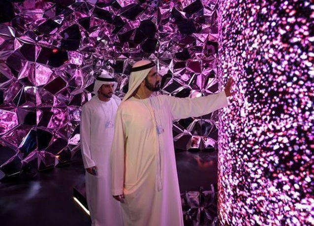بالصور : افتتاح متحف المستقبل في دبي