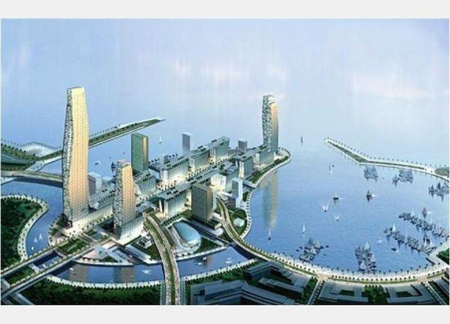 بالصور: بكلفة 100 مليار دولار، مدينة الملك عبد الله الاقتصادية ستنافس ميناء جبل علي في دبي
