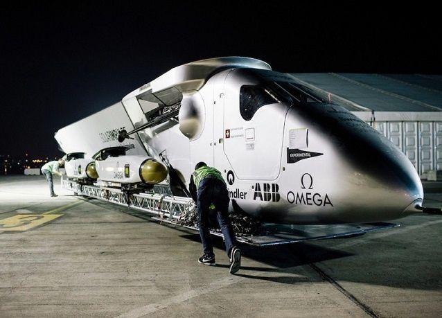 """بالصور: أطول رحلة بالعالم على متن """"سولار امبلس 2"""""""
