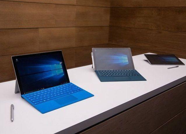بالصور : مايكروسوفت تكشف عن أجهزة جديدة تعمل على نظام ويندوز 10