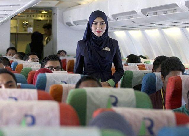 بالصور : أول شركة طيران متوافقة مع الشريعة الإسلامية في ماليزيا