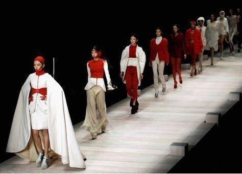 صور من أسبوع الصين للأزياء لعام 2012
