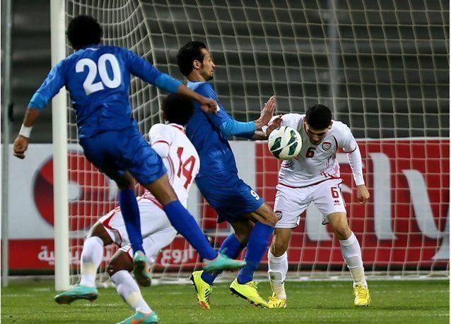 بالصور : الإمارات تهزم الكويت وتتأهل لنهائي كأس الخليج