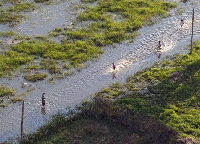 أمطار غزيرة وفيضانات تودي بحياة 5500 شخص في الهند