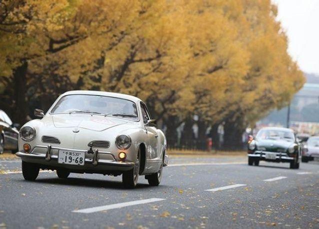 بالصور: مهرجان السيارات الكلاسيكية 2014 في اليابان