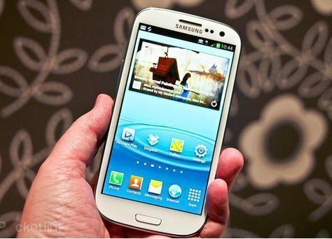 الكشف عن هاتف سامسونج جالاكسي اس 3 في معرض جيتكس السعودية 2012