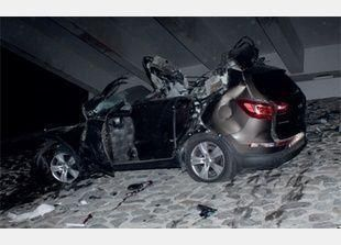 مصرع 3 شباب سعوديين في حادث سيارة