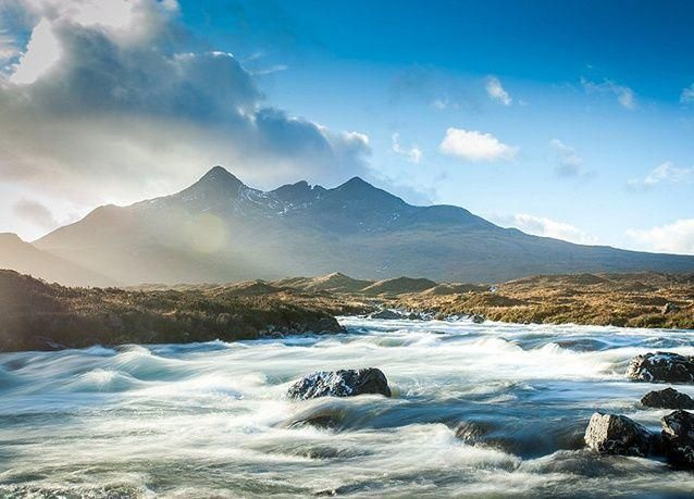 صور مذهلة لجمال الطبيعة الساحرة في اسكتلندا