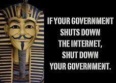اختراق وتعطيل 31 موقع إنترنت للحكومة المصرية