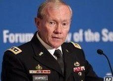رئيس الأركان الأميركي يلوح بالتدخل العسكري في سوريا