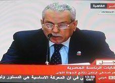 الإعلان عن نتائج الانتخابات المصرية بانتقال مرسي وشفيق لمرحلة لإعادة