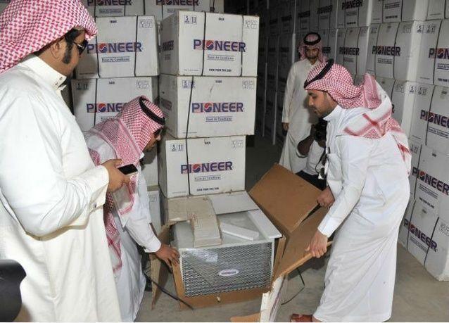 التجارة السعودية تصادر 4 آلاف جهاز تكييف مخالف لنظام كفاءة الطاقة