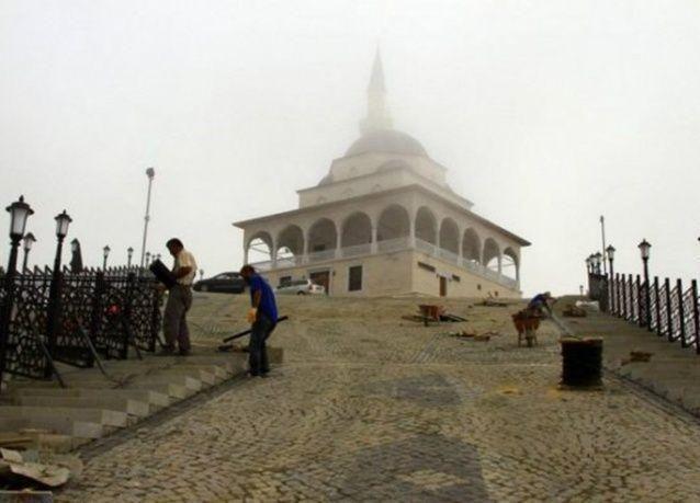 """بالصور : إطلالة ساحرة لمسجد """"القبلة"""" في تركيا"""