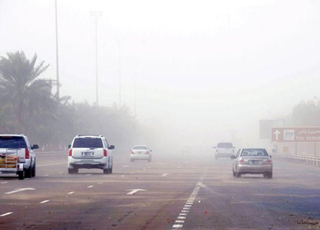 الإمارات: رياح قوية وانخفاض في الحرارة يومي الاثنين والثلاثاء وتوقع هطول أمطار