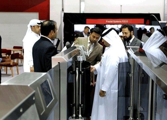 الهاتف الجوال بدلا من جواز سفر في مطارات دبي