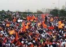 مسيرة سلمية حاشدة في الكويت ضد البرلمان الجديد