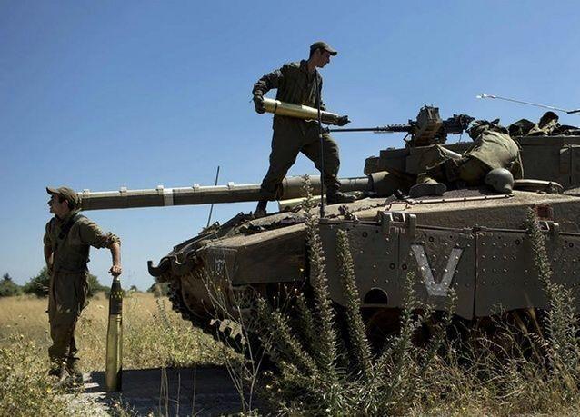 كيان اسرائيل يعلن قصف مواقع داخل سوريا