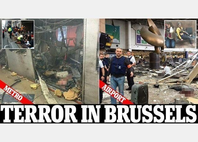 ارتفاع عدد قتلى هجمات بروكسل إلى 34 هم 20 في محطة المترو و14 في المطار