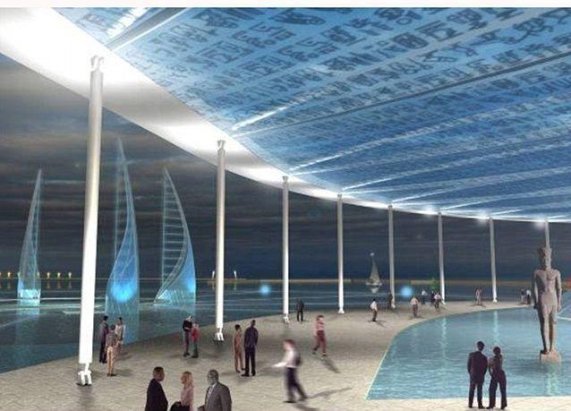 بالصور : مصر تحتضن أول متحف تحت الماء في العالم