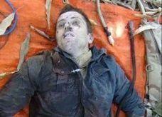 """""""الشباب"""" ينشرون صورة جثة جندي فرنسي"""