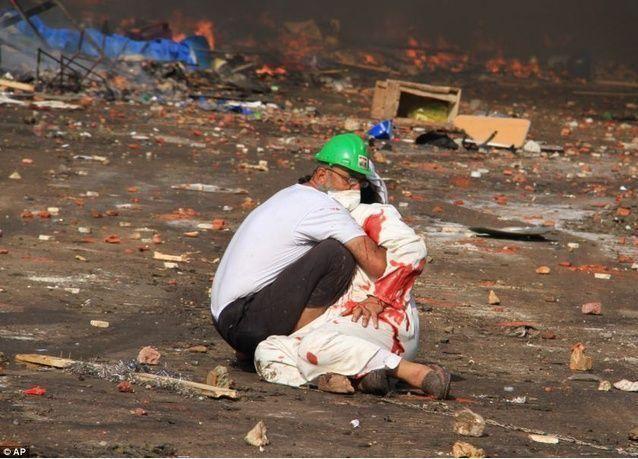 شهادة - اقتحام القوات المصرية اعتصام مؤيدي مرسي يخلف فوضى ودماء