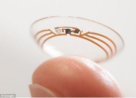 عدسات لاصقة ذكية من غوغل لمرضى السكري