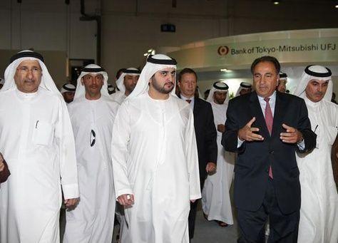 """الإمارات: مكتوم بن محمد يفتتح معرض """"سايبوس 2013"""" العالمي للخدمات المالية والمصرفية"""