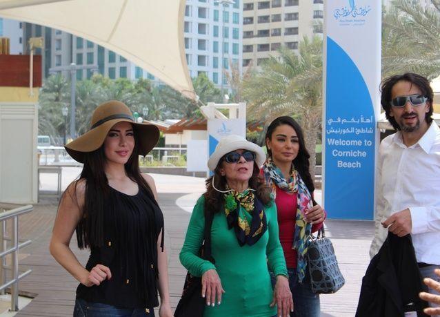 بدء تصوير أول مسلسل كوميدي عربي مشترك في أبوظبي