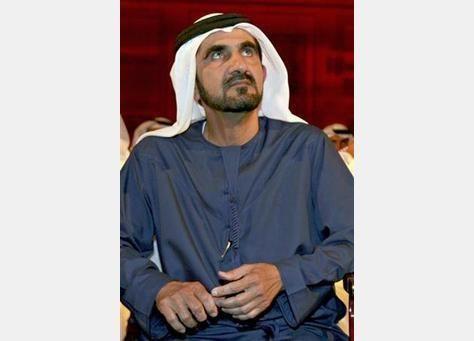 سمو الشيخ محمد بن راشد يلتقي أمير دولة قطر في الدوحة