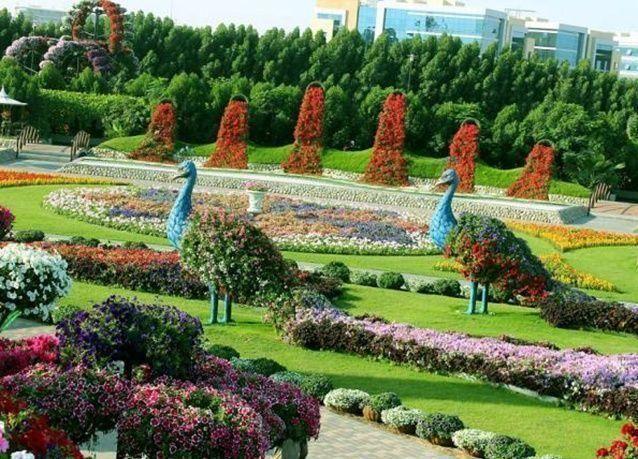 بالصور : أكبر حديقة زهور بالعالم في دبي