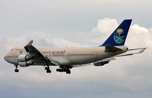 هبوط طائر سعودية في مطار القاهرة بسلام رغم حدوث عطل مفاجئ