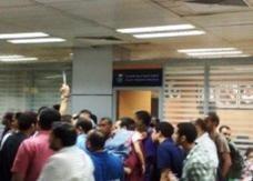 فوضى وحالات إغماء بسبب إلغاء رحلة جوية بين القاهرة والرياض