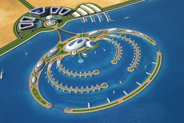 صور مخطط أول فندق شبه مغمور في العالم سيبنى في قطر