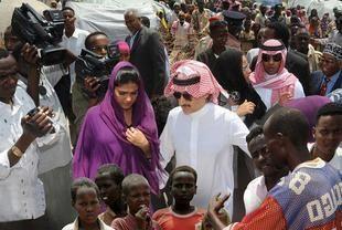 زيارة الوليد بن طلال وزوجته للصومال تتوج بالتبرع بـ 7.5 مليون ريال