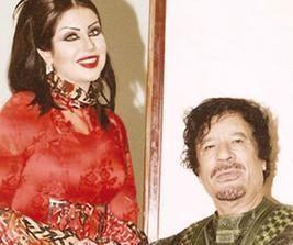 حليمة بولند تدافع عن صورتها مع القذافي