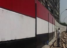 """غدا مسيرة لشباب الثورة المصرية """"هات شاكوشك"""" لهدم جدار السفارة الإسرائيلية"""