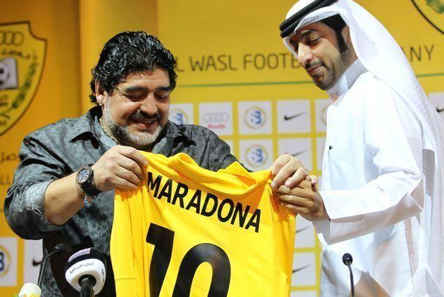 مارادونا مستاء من قرار اقالته ويعرب عن رفضه للقرار