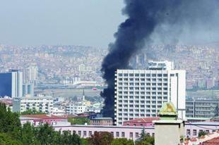 بالصور: ثلاثة قتلى في انفجار هز العاصمة التركية أنقرة