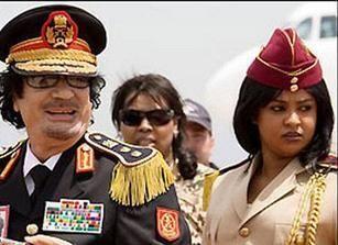 اعتقال مبروكة الشريف حارسة القذافي الخاصة