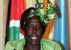 """الموت يغيب """"رسولة السلام"""" الكينية وانغاري ماثاي عن 71 عاما"""