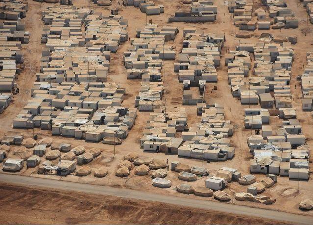 اللاجئين السوريين في رمضان