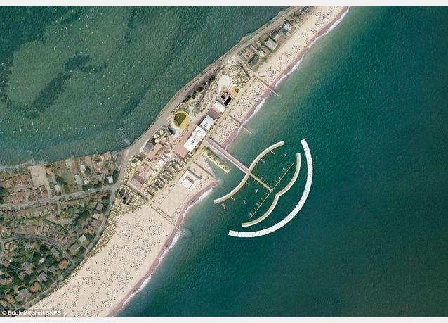 تصميم جزيرة النخلة دبي ينتقل إلى دورست بريطانيا