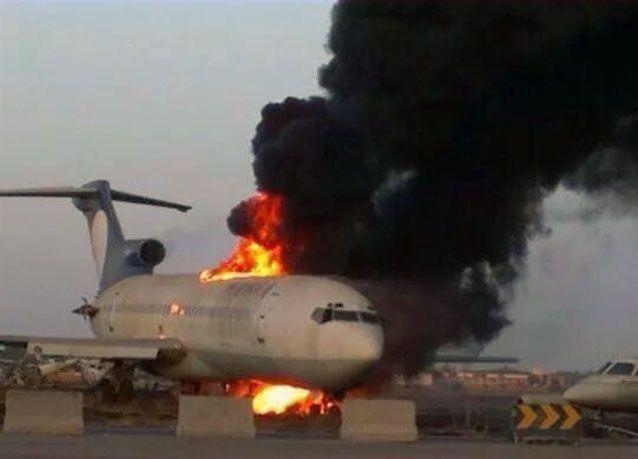 صاروخ يصيب المطار في العاصمة الليبية طرابلس