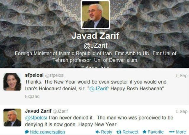 وزير الخارجية الإيراني الجديد يثير جدلا على تويتر بنفي نكران ايران محرقة اليهود