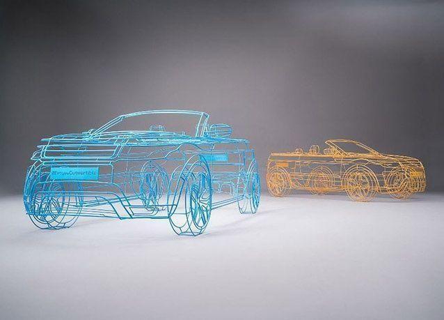 بالصور : سيارات شفافة على رصيف هارودز