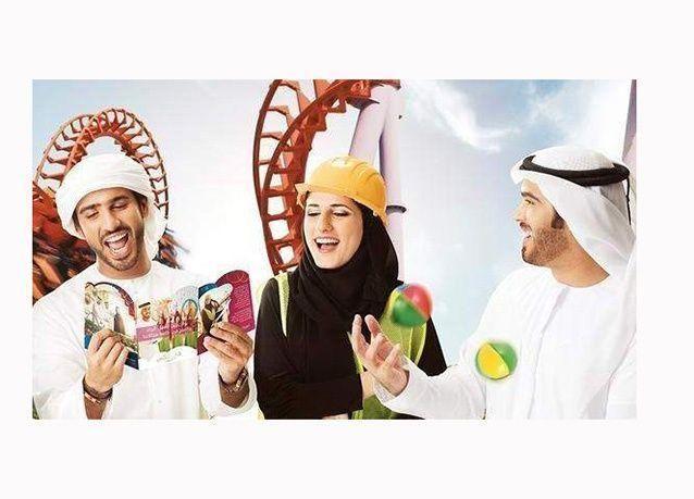 """بالصور : """"دبي باركس"""" أحدث وجهات الترفيهية في الإمارات"""
