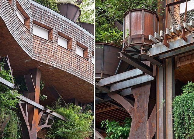 """بالصور : """"الغابة العمودية"""" مبنى يحمي سكانه من الضوضاء والتلوث في ايطاليا"""