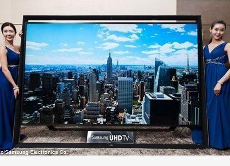 عشرة من الشرق الأوسط هم أول مشترين لأكبر تلفزيون في العالم بقياس 110 إنش